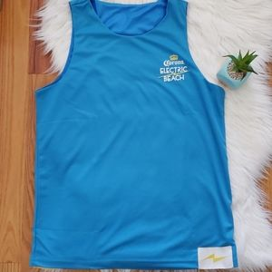 Corona Electric Beach Baby Blue Reversible Jersey
